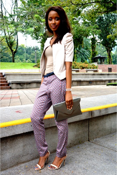 Zara pants - Forever 21 purse - thrifted sandals