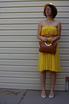Willow Ridge dress - no brand hat - Tigon AOK purse - 9 West shoes
