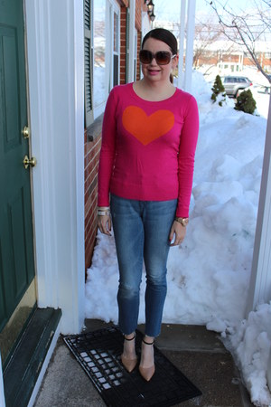 BCBG shoes - Gap jeans - Delias sweater