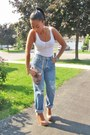 Vintage-jeans-jeans-h-m-shirt-aldo-purse-jeffrey-campbell-wedges