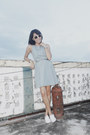 Light-blue-tennis-dress-vintage-dress-white-keds-sneakers