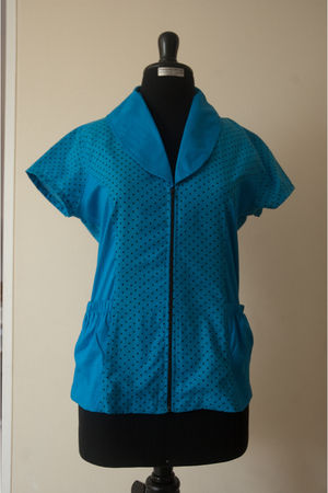 blue vintage by chile shirt