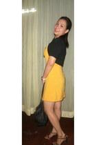 dress - Agnes B bag
