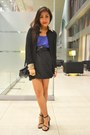 Black-worn-as-skirt-folded-and-hung-top-blue-worn-as-top-cococabana-dress