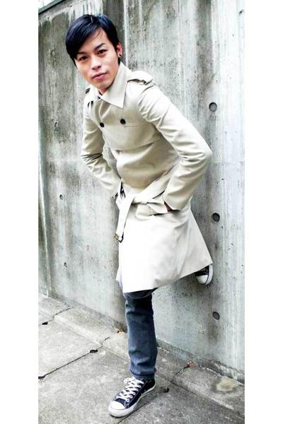 I made it coat - I made it pants - Converse shoes
