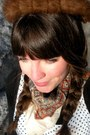 Brown-blimey-oxfords-seychelles-shoes-white-polka-dot-forever-21-dress-black