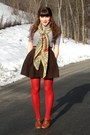 Brown-blimey-oxfords-seychelles-shoes-navy-striped-tunic-old-navy-dress-came