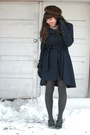 Blue-mirage-coat-camel-thrifted-scarf-dark-brown-vintage-hat-black-isotone