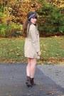 Beige-trench-h-m-coat-dark-brown-cheerio-seychelles-boots-navy-vintage-scarf