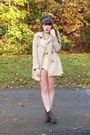 Beige-trench-h-m-coat-dark-brown-cheerio-seychelles-boots-navy-vintage-scarf
