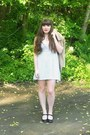 Ivory-polka-dot-forever-21-dress-black-mary-janes-payless-shoes