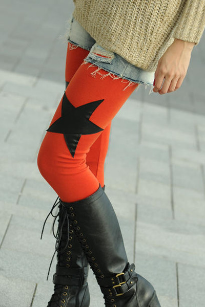 SOHO Central Star Patch Leggings leggings