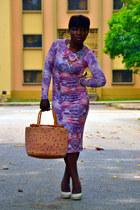 bodycon Topshop dress - lowheels next heels