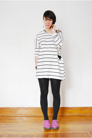 white Rosewholesale dress - magenta doc martens shoes