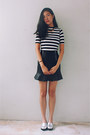 Navy-striped-taobao-top-off-white-metallic-taobao-loafers