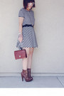 Box-bag-white-clear-glasses-black-bw-stripe-skirt-heels