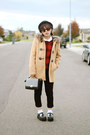 Black-bowler-hat-camel-fur-hoodie-f21-jacket-black-bag