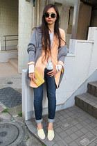 bubble gum H&M blazer