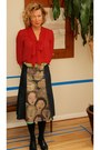 Anthropologie-blouse-one-of-a-kind-hand-painted-skirt-thrift-belt