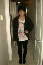 Urban Outfitters shirt - vintage accessories - Aldo shoes