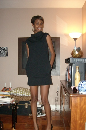 Express dress - Ninewest shoes