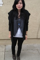 Kill City jeans - Urban Outfitters vest - vintage boots