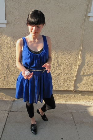 Zara dress - f-troupe shoes