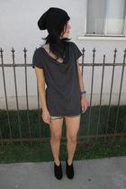 H&M t-shirt - sam edelman boots