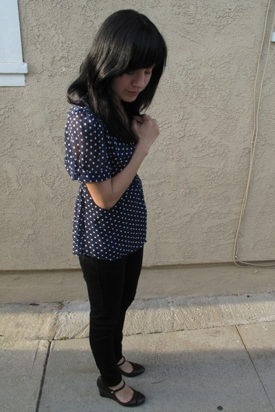 Forever21 shirt - Charles David shoes