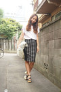Silver-silver-tote-dholic-bag-black-topshop-skirt-light-purple-gvgv-t-shirt