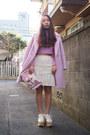 Pink-kaon-coat-light-pink-bijou-another-edition-bag