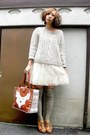 Off-white-tutu-mini-bilitis-dress-brown-ear-muff-tomorrow-land-hat-silver-k