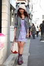 Amethyst-catie-boots-light-purple-t-shirt-dress-nadesico-dress