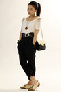 White-mphosis-top-black-unknown-brand-pants-beige-river-island-shoes-black