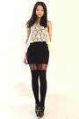 White-cotton-on-vest-black-topshop-stockings-brown-fendi-shoes-black-h-m-s
