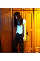 supre t-shirt - Promod pants - Promod purse