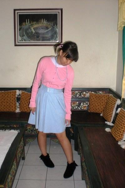 Hang Ten - skirt - Misyelle boots