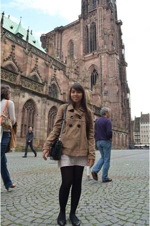 Pimkie jacket - satchel New Yorker purse - H&M skirt