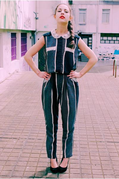 Mueca de trapo suit - Zara heels