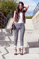 BLANCO jeans - Zara bag - Zara sandals