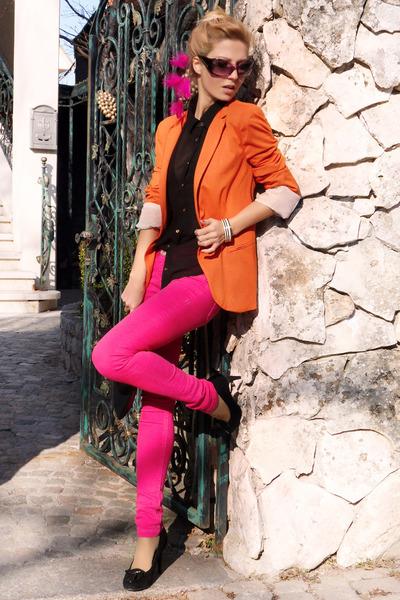 Orange Pink Shirt | Artee Shirt