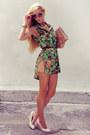 Aquamarine-queens-wardrobe-shirt-tan-pull-bear-bag-peach-zara-shorts