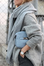 Heather-gray-mohair-sweater-sweater-light-blue-mini-bag-parfois-bag