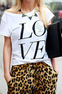 Black-bag-beige-hat-brown-leopard-print-sheinside-pants-ivory-t-shirt