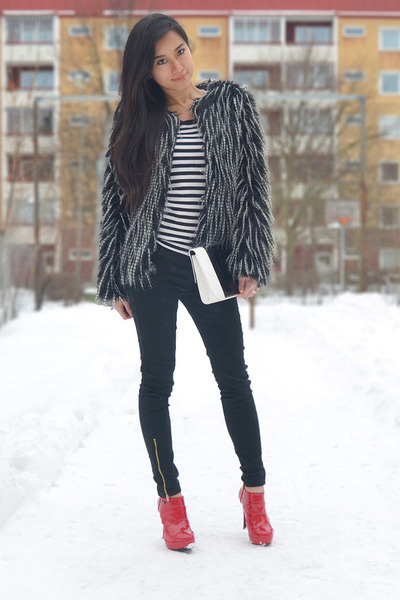 Black skinny jeans and ankle boots - Black Skinny Jeans And Ankle Boots – Global Trend Jeans Models