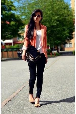 orange zara blazer Zara blazer - black skinny jeans lager 157 jeans