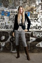 Marc O Polo blazer - Coast belt - vintage boots - Josefin Strid pants
