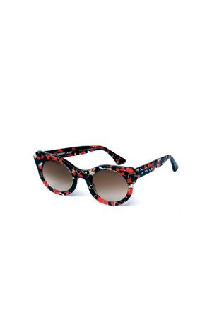 red Thierry Lasry sunglasses