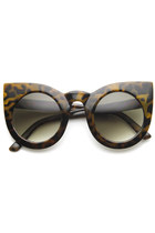 cat eye zeroUV sunglasses