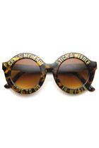 round zeroUV sunglasses